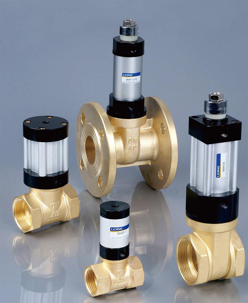 Gas control valves