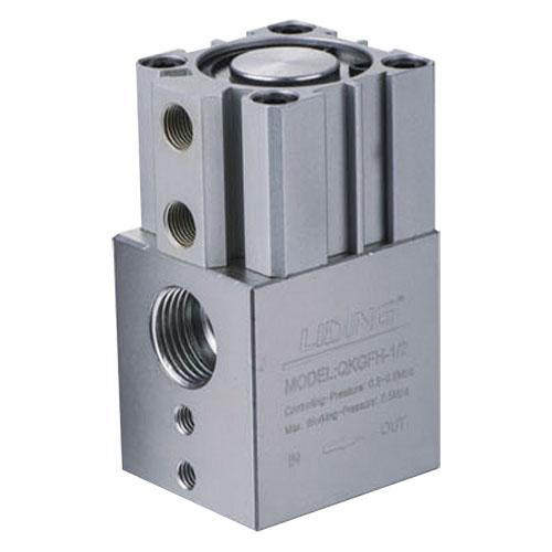 QKGFH-1/2 Resistant to LPG High Pressure Pneumatic Control Pipe Valve