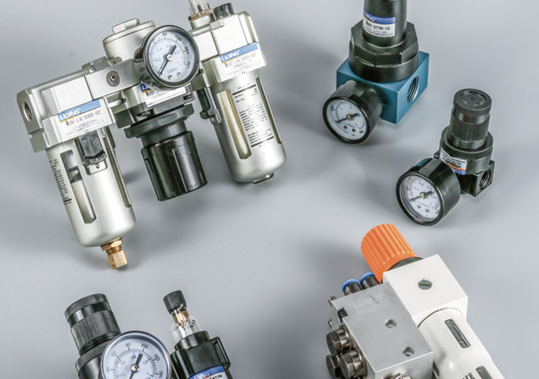 How is the maintenance of pneumatic components correct?